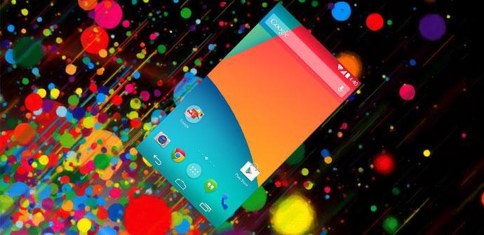 Interfaz de Android 4.4 KitKat