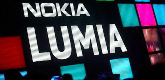Cartel de Nokia Lumia