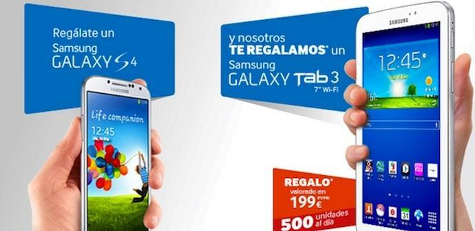 Promocion Galaxy S4 Galaxy Tab 3