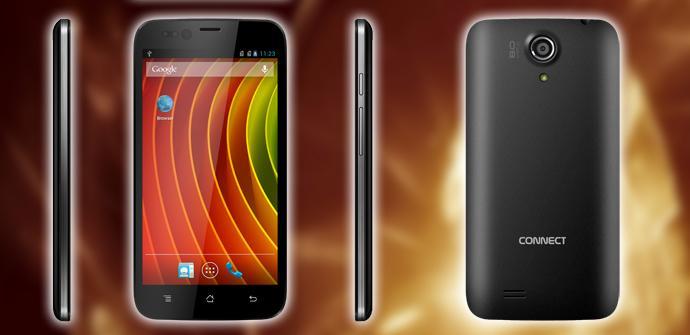 Q50 Parkour, el primer smartphone con tapa trasera táctil.