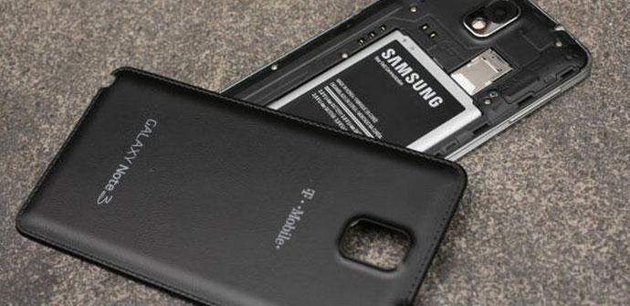 Carcasa extraible del Samsung Galaxy Note 3