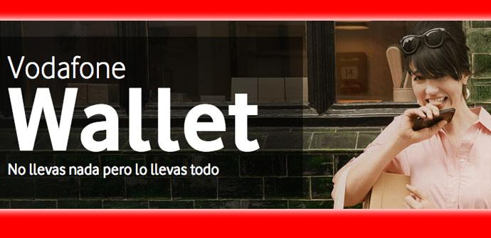 Vodafone Wallet, el primer servicio de pago con el móvil de España.