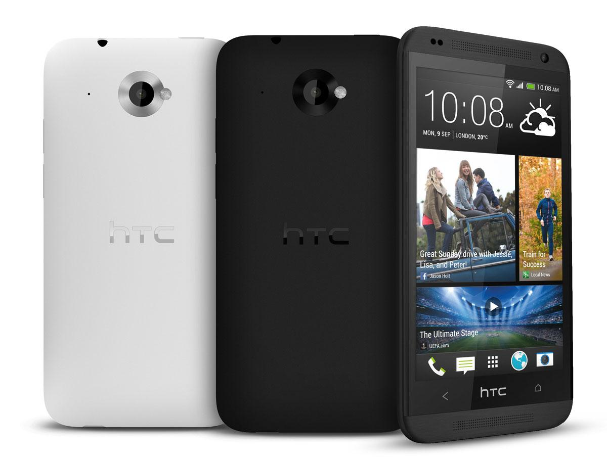 HTC Desire 601 en color gris y negro