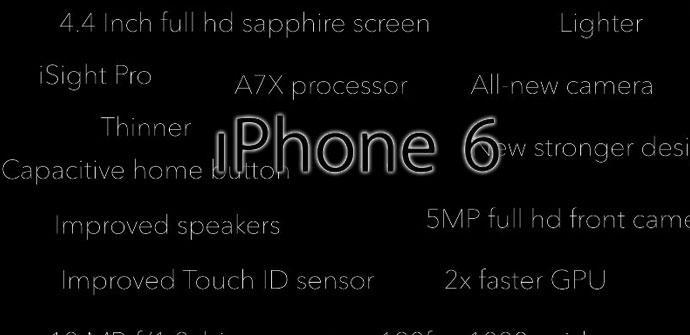 iPhone 6 conceptual