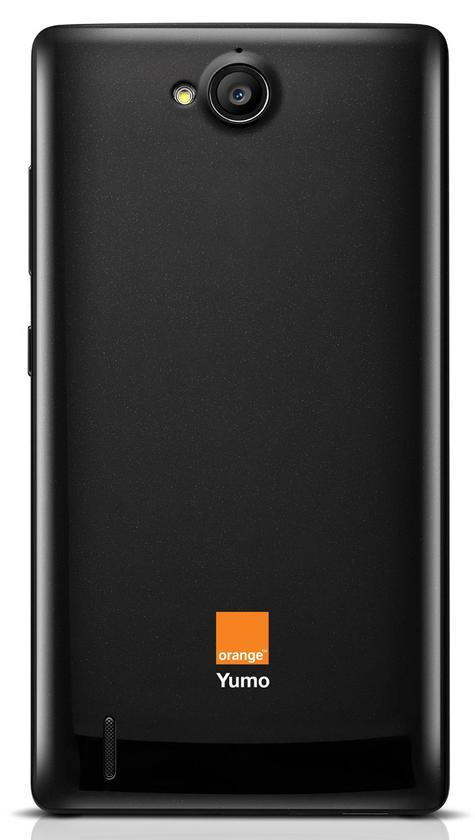 Orange Yumo vista trasera