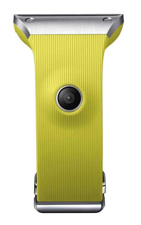 Samsung Galaxy Gear en color amarillo