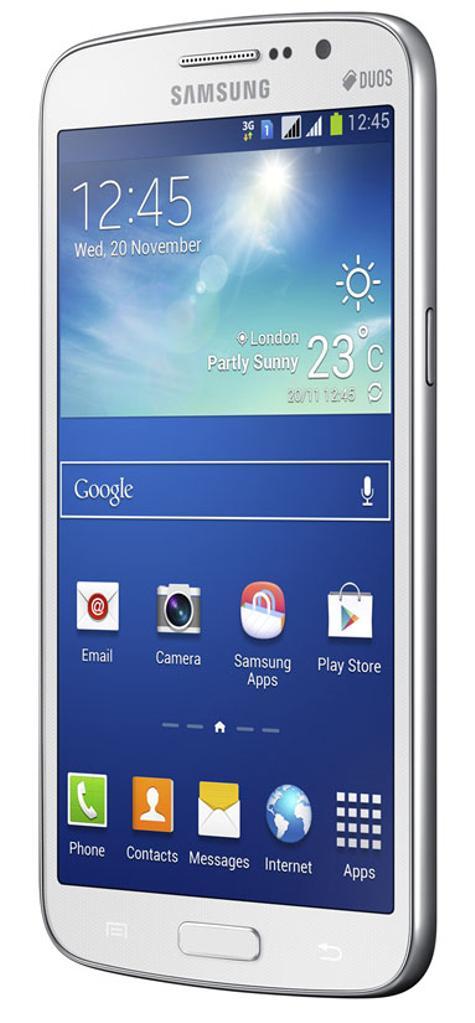 Samsung Galaxy Grand 2 vista lateral
