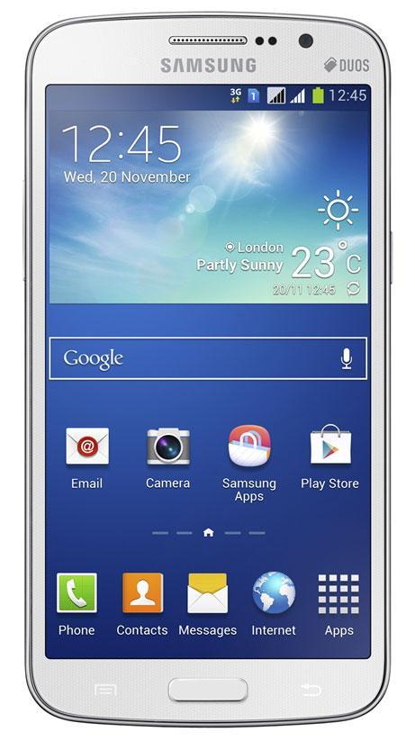Samsung Galaxy Grand 2 vista frontal