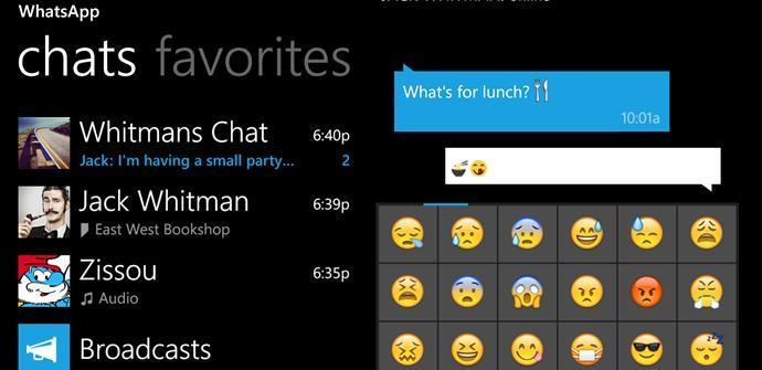 Windows phone whatsapp