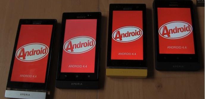 xperias android kitkat
