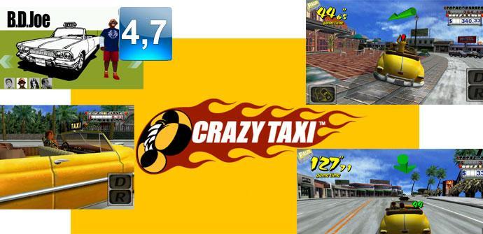 Apertura del juego Crazy Taxi