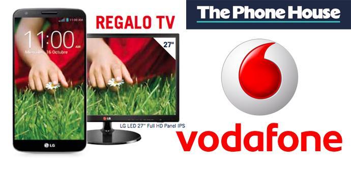 Vodafone LG G2 y TV gratis en The Phone House.