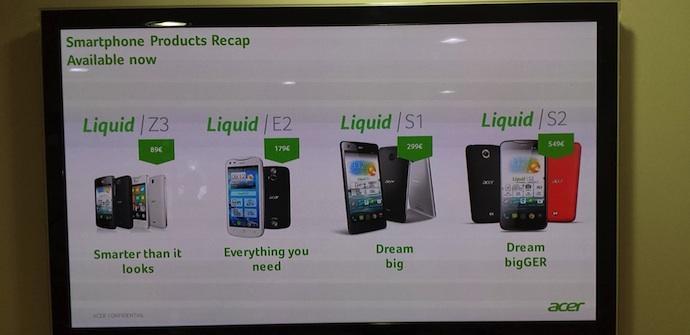 Precios Acer Liquid AP