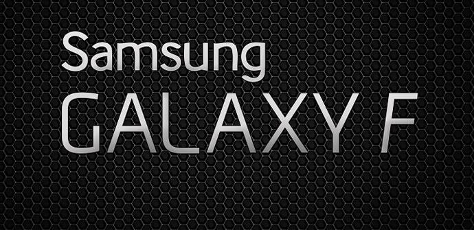 Samsung Galaxy F en aluminio