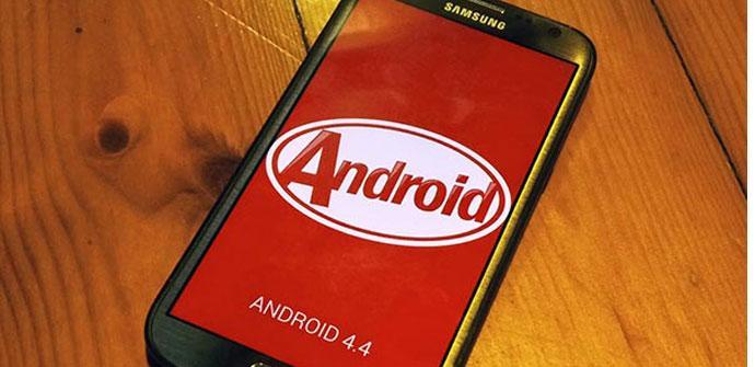 Samsung Galaxy con Kitkat
