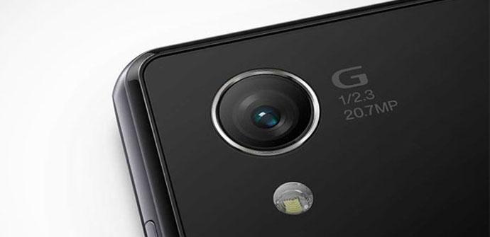 Camara de smartphone Sony Xperia
