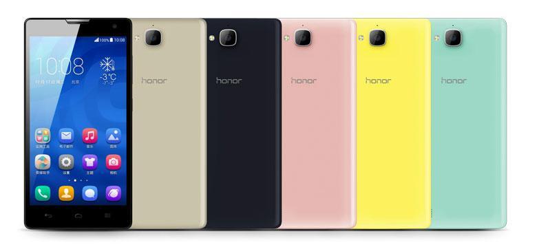 Huawei Honor 3C en varios colores
