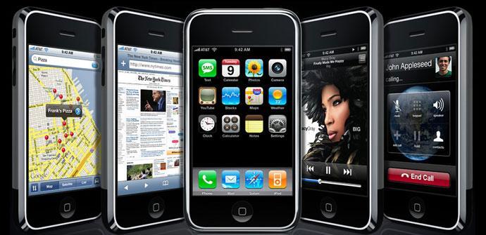 iPhone 2G en negro