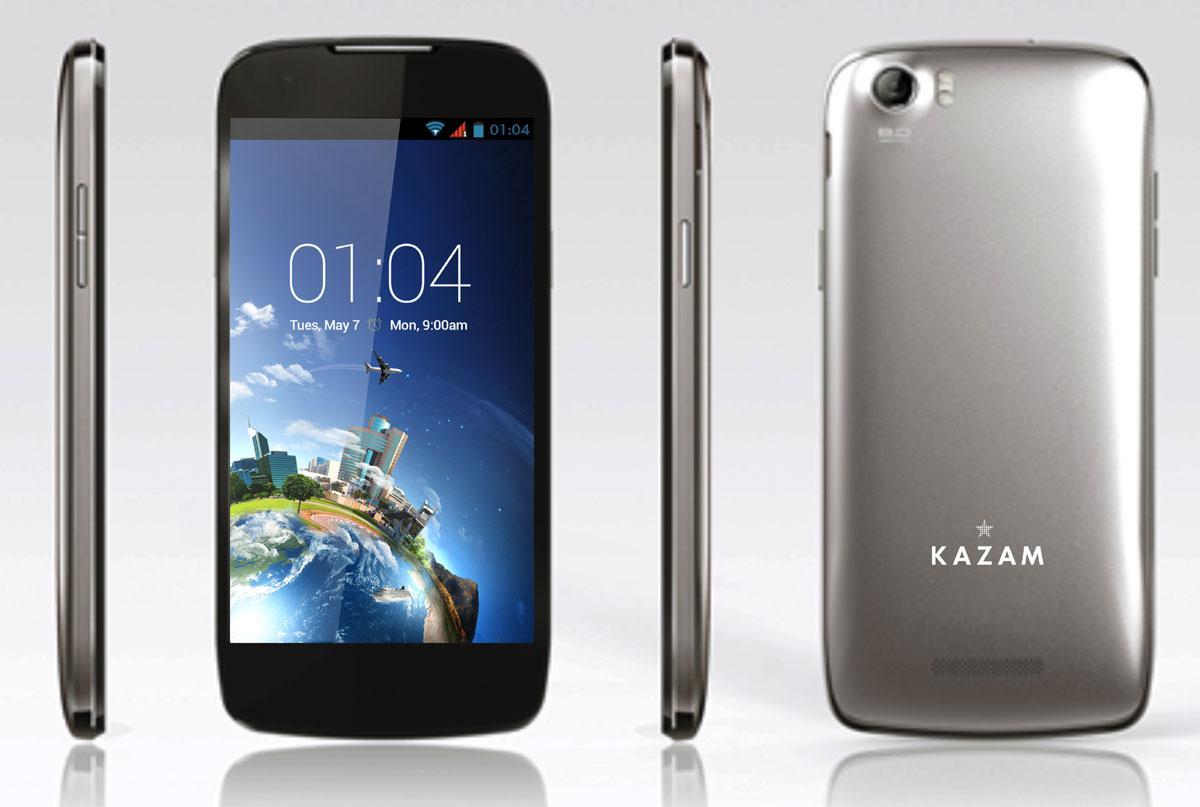 Kazam-Thunder-x4-5 de color negro y plata