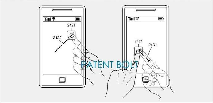 pantalla transparente samsung patente