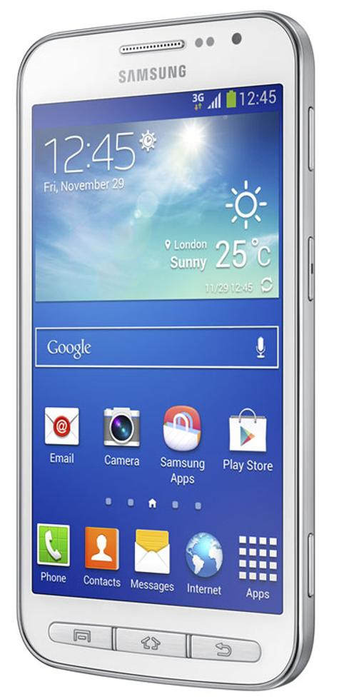 Samsung Galaxy Core Advanced en color blanco