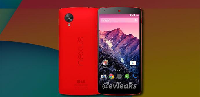 Nexus 5 de nuevo color