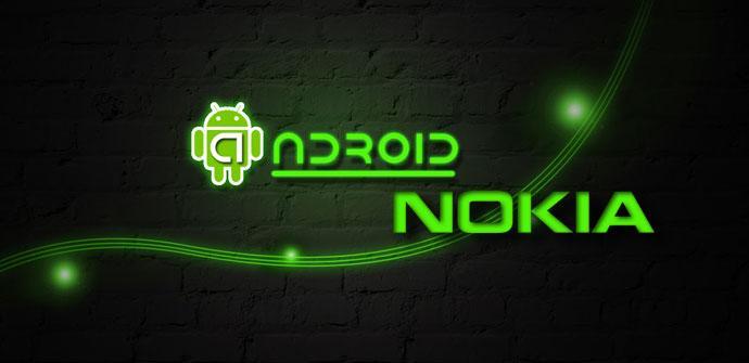 Logos de Nokia y Android