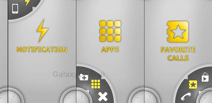 Interfaz para el Galaxy S5