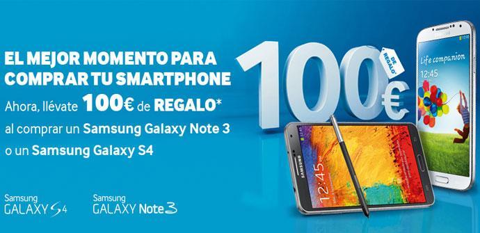 Promocion de Samsung