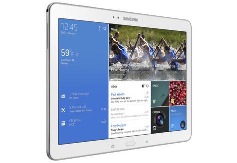 Samsung Galaxy TabPRO 10.1 vista lateral