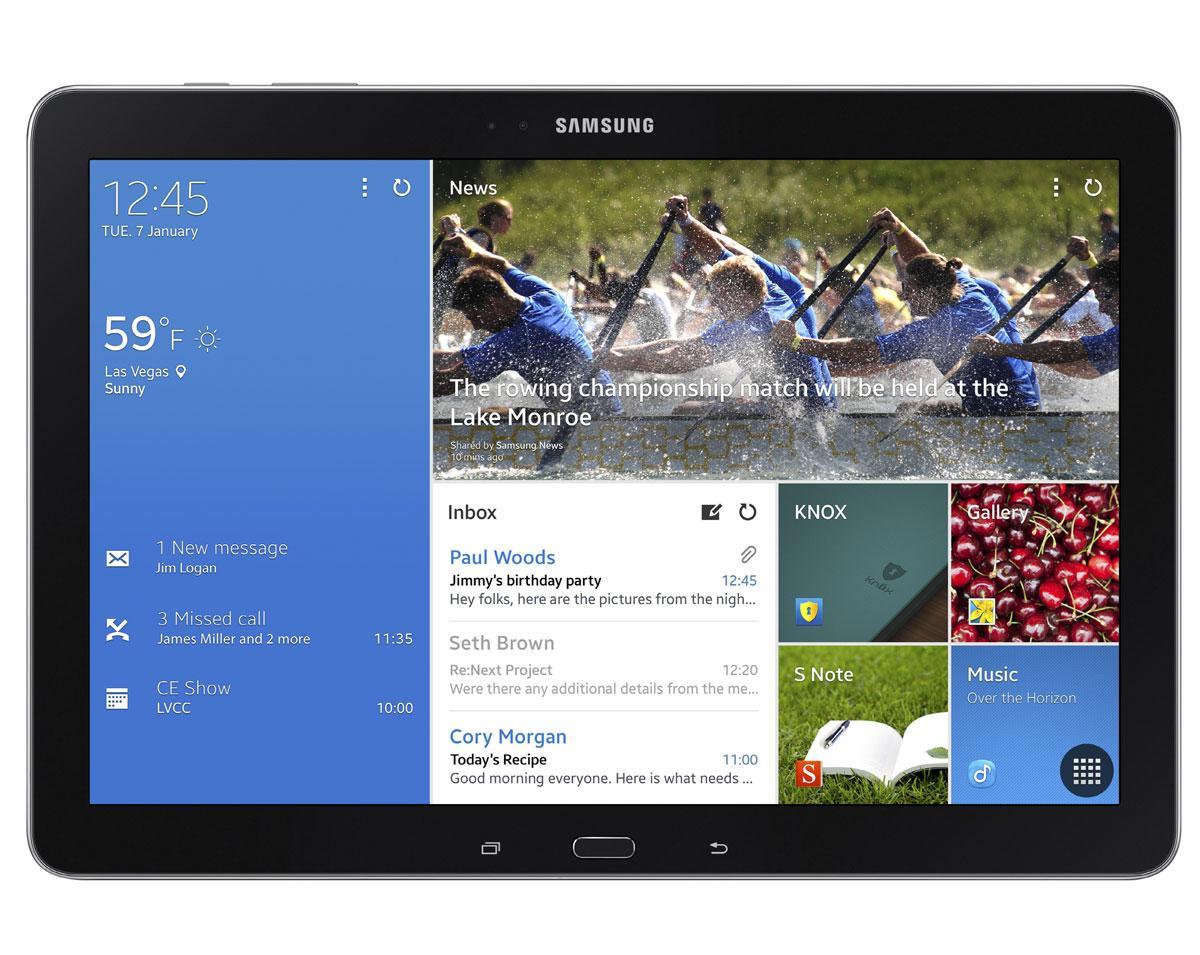 Samsung Galaxy TabPro 12,2 vista frontal