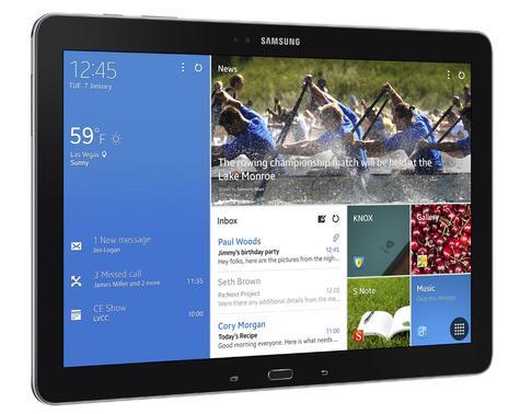 Samsung Galaxy TabPro 12,2 vista lateral
