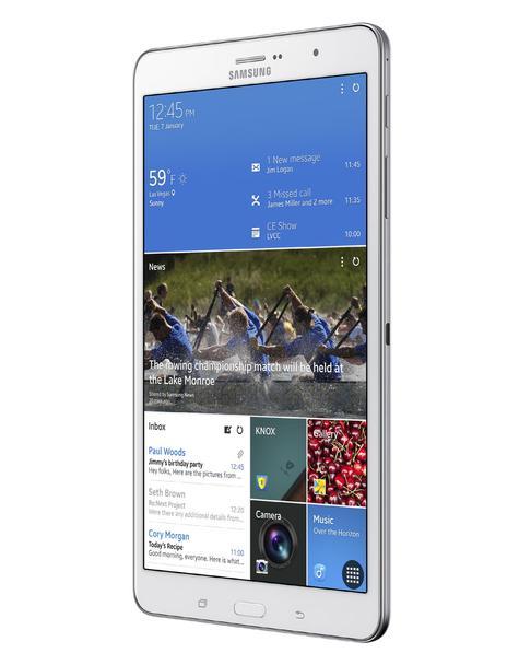 Samsung Galaxy TabPRO 8.4 vista lateral
