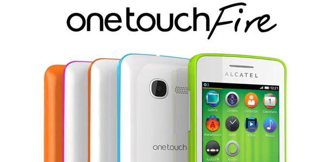 Modelos Alcatel OneTouch Fire con Firefox OS