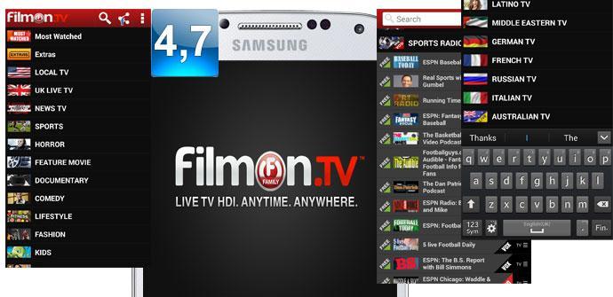 Apertura del FilmOn Family TV