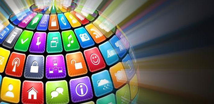 Logos de aplicaciones Android