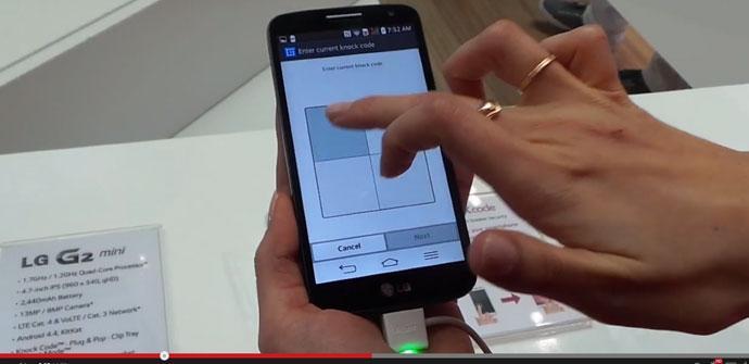Prueba del LG G2 Mini