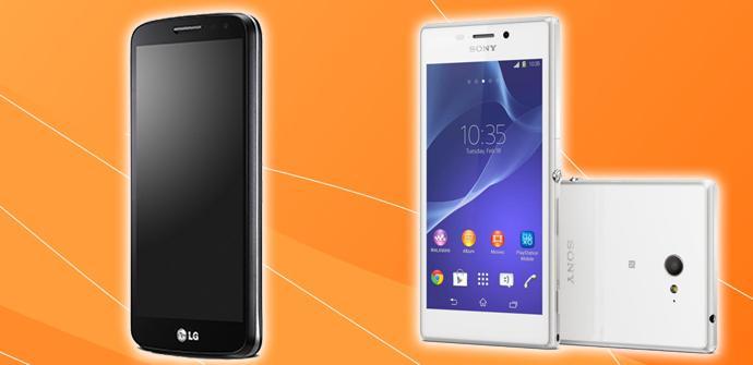 LG G2 mini vs Xperia M2