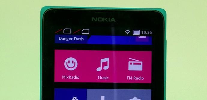 Nokia X pantalla principal AP
