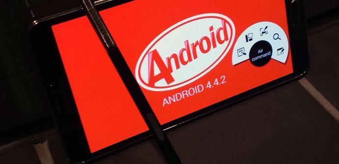 Samsung Galaxy con Android 4.4.2 KitKat