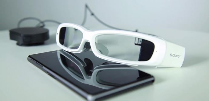 apertura gafas sony