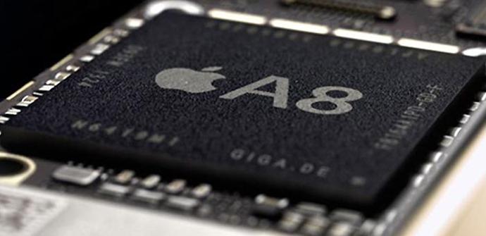 apertura procesador a8 apple
