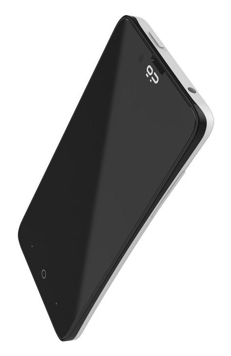 Geeksphone Revolution en color negro y blanco