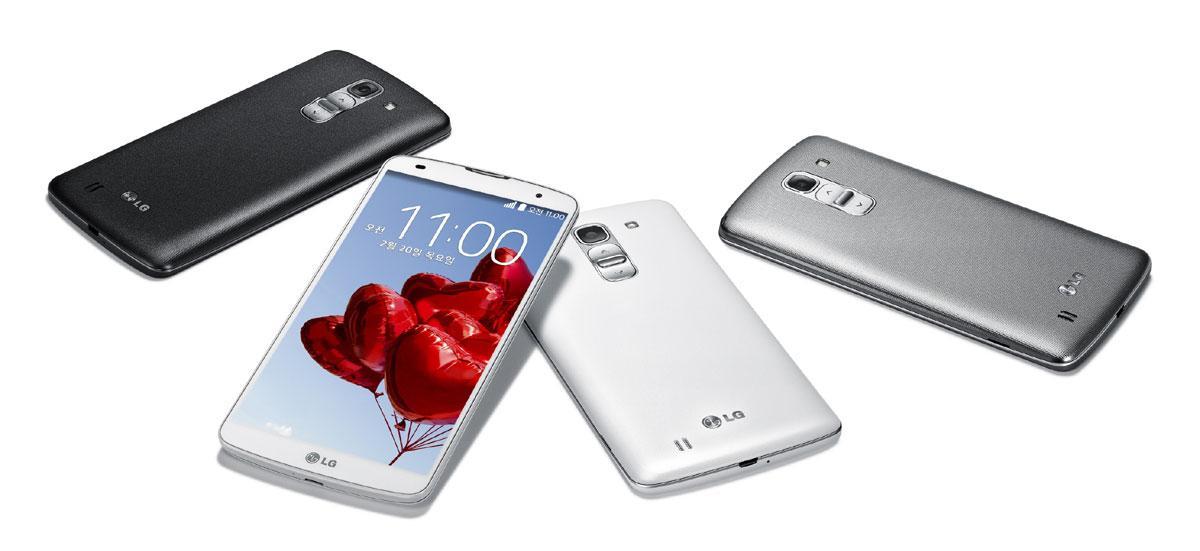LG G Pro 2 en varios colores