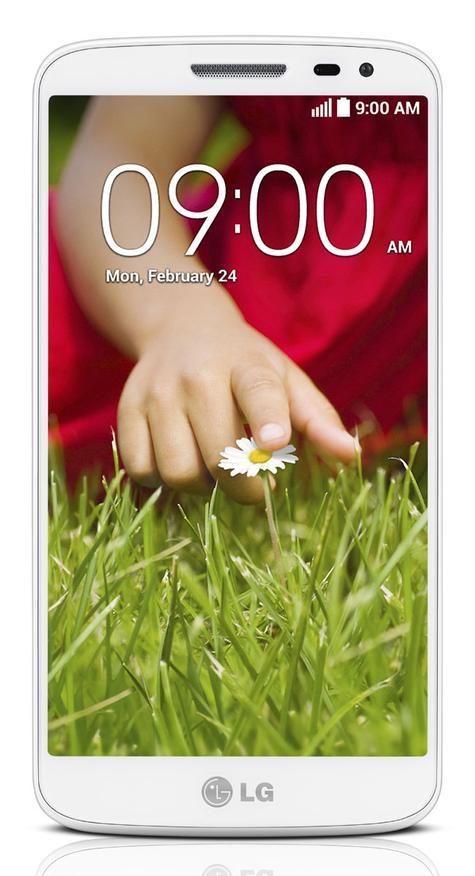 LG G2 Mini vista frontal