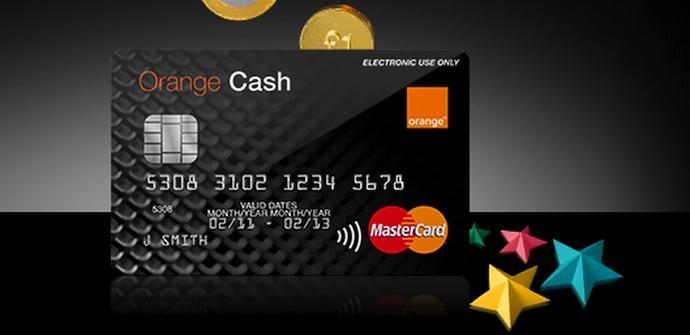 orange cash tarjeta