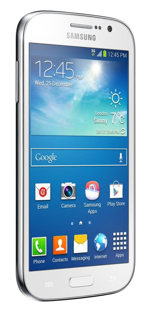 Samsung Galaxy Grand Neo vista lateral