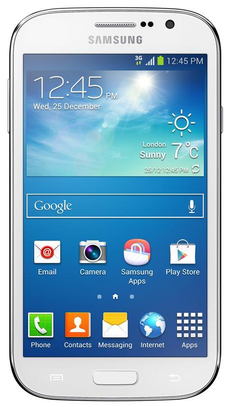 Samsung Galaxy Grand Neo vista frontal
