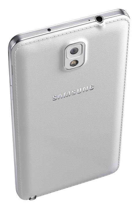 Samsung Galaxy Note 3 Neo detalle de la cámara y de la parte trasera