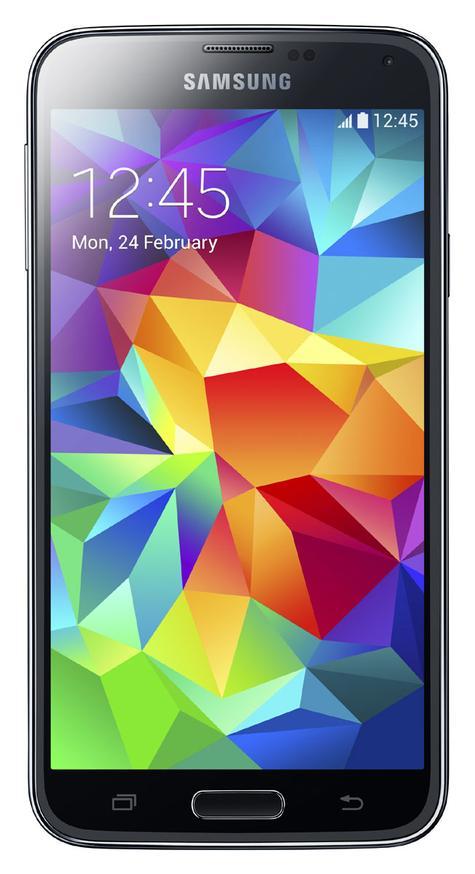 Samsung Galaxy S5 en color negro